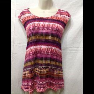 Women's size Medium ROSE + OLIVE cute summer top